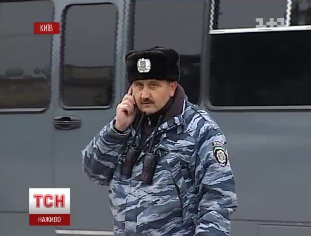 Кусюк ще у формі українського правоохоронця