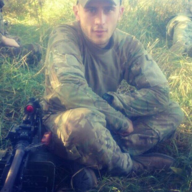 Віталій Драган - один з тих військових, які першими у 2014-му році захищали Україну від окупантів