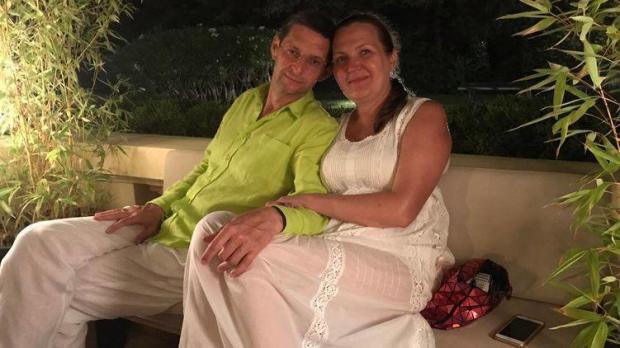 Віталій Ковальчук з дружиною Оленою