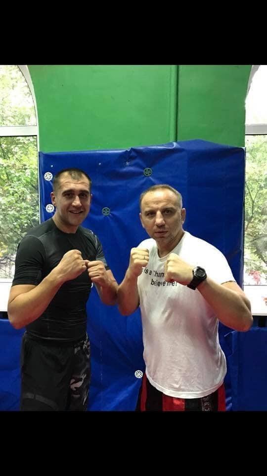 Віктор Сидоренко (зправа)