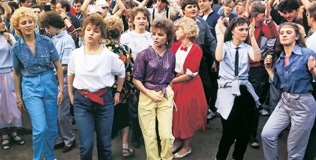 Дівчата в СРСР в 80-х роках