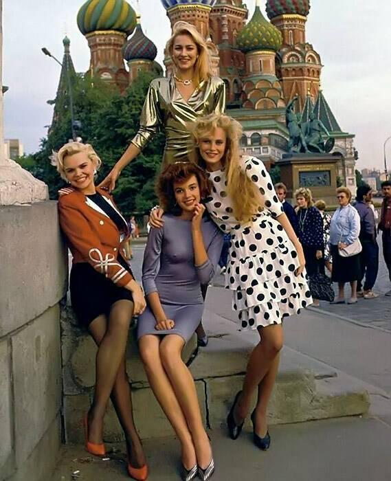 Мода СРСР 80-х