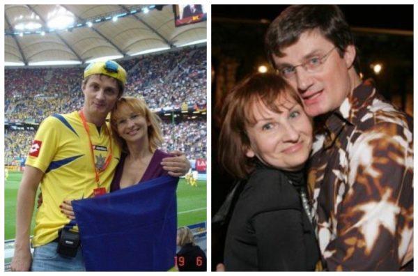 Игорь Кондратюк с женой